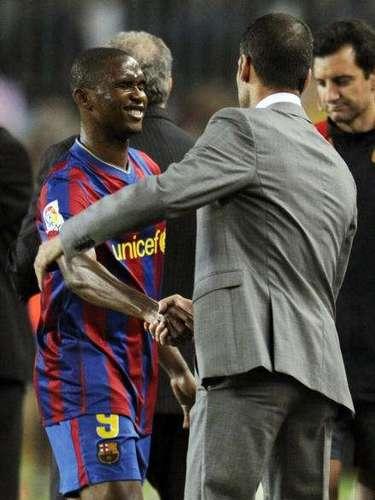 Samuel Eto'otampoco fue de su agrado, pese a que el camerunés fue valioso en los títulos barcelonistas, incluida la Liga de Campeones de 2009, tal como en 2006.