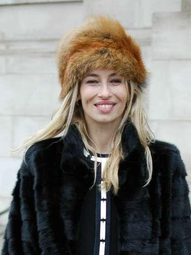 Con temperaturas bajo cero, muchos optaron por sombreros de piel para protegerse con estilo del intenso frío.