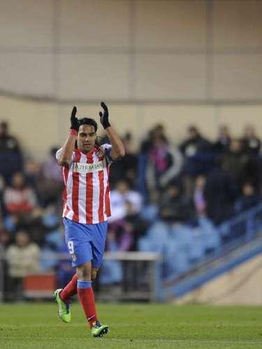 Radamel Falcao, delantero de Atlético de Madrid: \