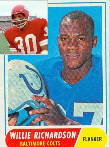 Willie y Gloster Richardson fueron los primeros hermanos en jugar un Super Bowl. Willie lo hizo en el SBIII con Potros de Baltimore y Gloster con los Jefes de Kansas City en el SBIV.