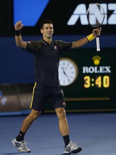 Novak hizo historia en Australia al ganarlo tres veces al hilo.