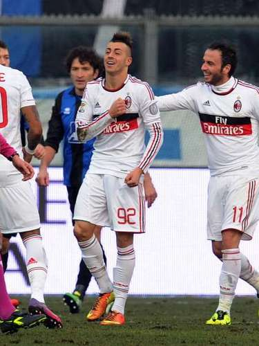 El Shaarawy marcó al minuto 30 el tanto de la diferencia.