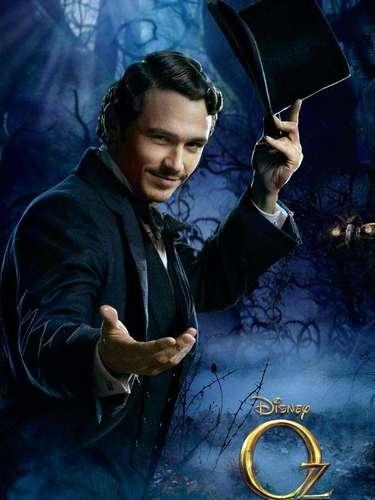 Finalmente, James Franco interpreta a 'Oscar Diggs', un ilusionista que usa sus conocimientos para hacerse con el poder y llegar a ser el poderoso 'Mago de Oz'.