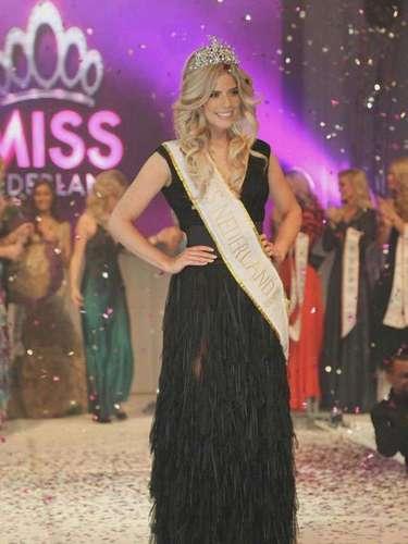 Esta despampanante y trabajadora rubia quien hoy ostenta el título de la más bella de Holanda luchará con todo su potencial para reemplazar a Olivia Culpo en el título ¿Lo logrará?