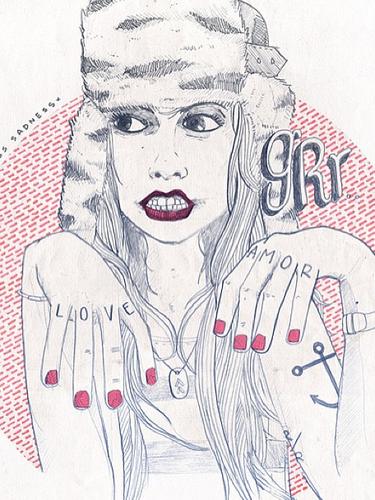 Arte por doquier... Además de su faceta como compositor y músico, Carlos Sadness nos muestra sus dibujos en Instagram... ¡Nos encantan!