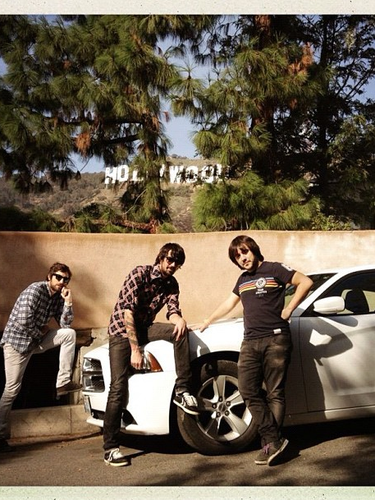 Hasta L.A llevó a Lori Meyers hace unas semanas la grabación de su nuevo álbum 'Impronta'. Fueron enseñando todos los sitios míticos por los que pasaban a todos sus seguidores.
