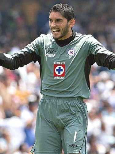 El portero de Cruz Azul Jesús Corona es clave en el cuadro de Guillermo Vázquez