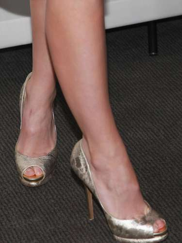 But rocked amazing heels.
