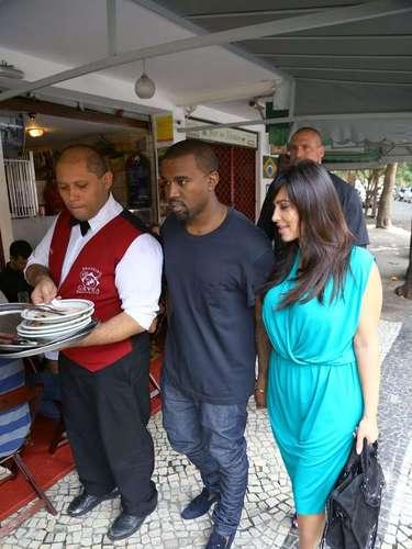 Kim Kardashian y Kayne West estarán en el carnaval de Brasil