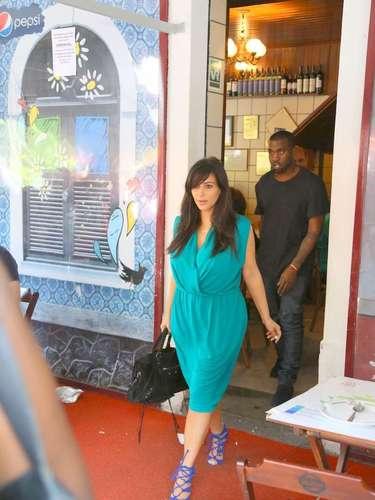 Kim Kardashian anunció su embarazo a finales del año pasado