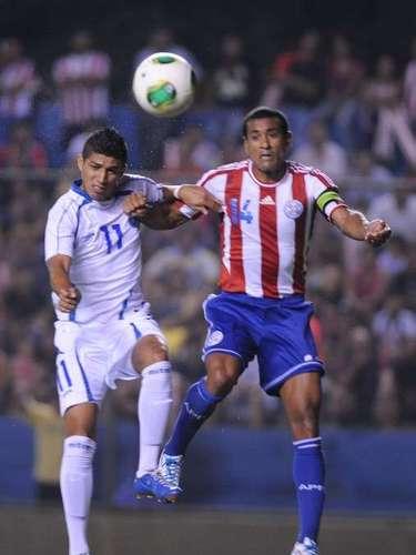 Paulo da Silva fue titular en la victoria de Paraguay 3-0 sobre El Salvador.