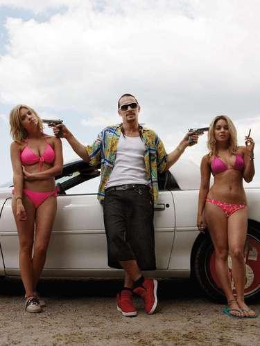 El personaje de James Franco (Alien) es una mala influencia para las sexys jovencitas