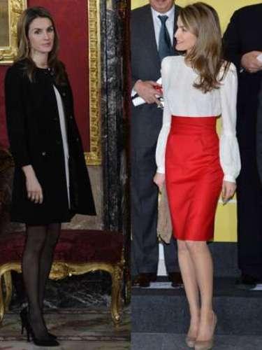La princeza Letizia es un ícono de estilo y esta semana brillópor dos atuendos que son tendencia de moda.