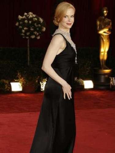 En el 2008, Nicole Kidman asistió a la entrega 80 del Oscar cuando estaba embarazada de su primera hija biológica.