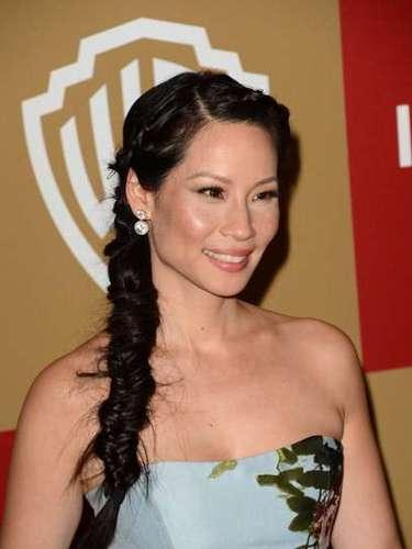 Lucy Liu empezó a trabajar a los once años en una fábrica de pijamas de su familia.