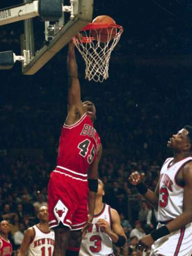 8. Jordan drops a double nickel: It was just his fifth game back after a 21-month 'retirement,' and Jordan showed he was far from finished in this game at Madison Square Garden, a place where he always played well. He scored 55 against the Knicks' fabled defense, on 57 percent shooting.