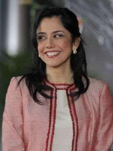 Perú.Nadine heredia, esposa del presidente Ollanta Humala.