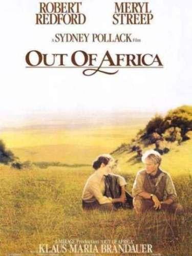 En 1985 el drama romántico Out of Africa del directorSidney Pollack fue honrado con la estatuilla de oro.