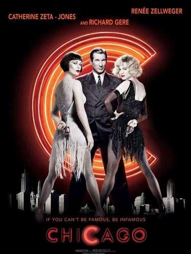 En 2002el musical Chicago, dirigido porRob Marshall fue la película honrada con este premio.