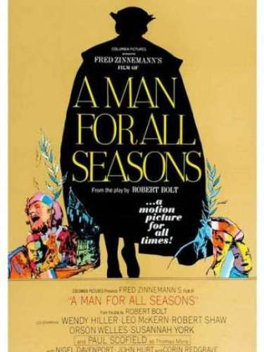 En 1966 la película biográfica A Man for All Seasons, del director Fred Zinnemann, obtuvo la estatuilla de oro.
