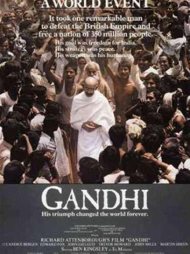 En 1982, el filme biográficoGandhi del directorRichard Attenborough,obtuvo la distinción de ese año.
