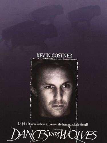 En 1990 el drama Dances with Wolves, protagonizado y dirigido por Kevin Costner, se llevó la estatuilla de ese año.