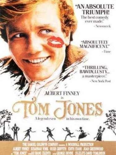 En 1963 la película de comedia y aventurasTom Jones del director Tony Richardson fue galardonado con dicha distinción.