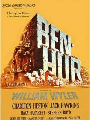 En 1960el drama histórico Ben-Hur del director William Wyler fue honrada con el galardón.