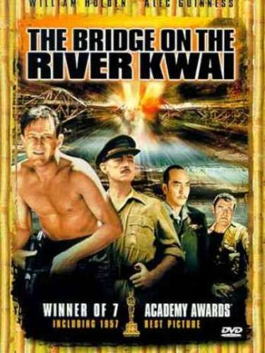En 1956 el drama bélico The Bridge on the River Kwai del director David Lean, fue el premiado de ese año.
