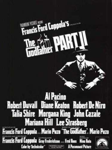 En 1974 el directorFrancis Ford Coppola se lleva por segunda vez el codiciado premio por su fimeGodfather Part II.