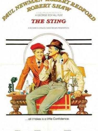 En 1973 la comediaThe sting, dirigida por George Roy Hill, obtuvo el mayor reconocimiento de la noche durante la premiación de losOscar de ese año.