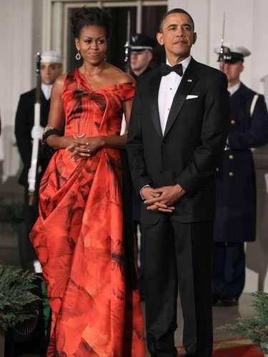 Estados Unidos.Michelle Obama, esposa de Barack Obama.