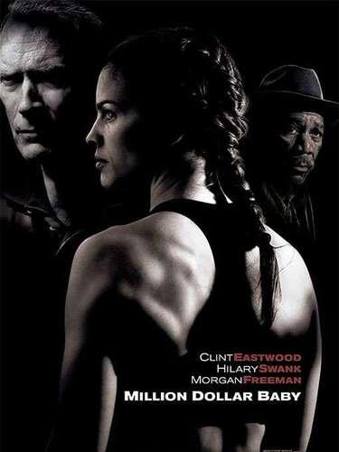 En 2004 el premio Oscar a Mejor Película fue para el drama,Million Dollar Baby, dirigido porClint Eastwood.