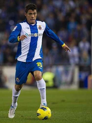 Héctor Moreno dio un buen duelo en el triunfo del Espanyol (1-0) sobre el Betis.