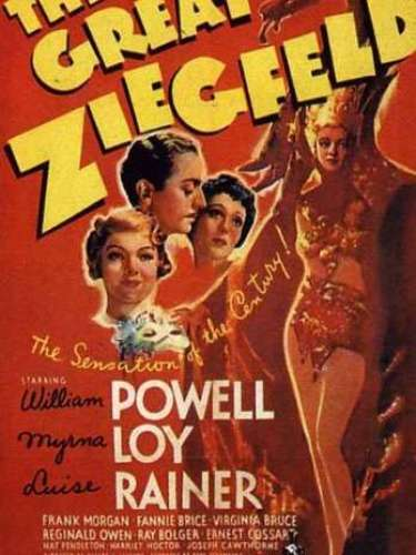 En 1936 el musical The great Ziegfeld del director Robert Z. Leonard se lleva la estatuilla de oro.