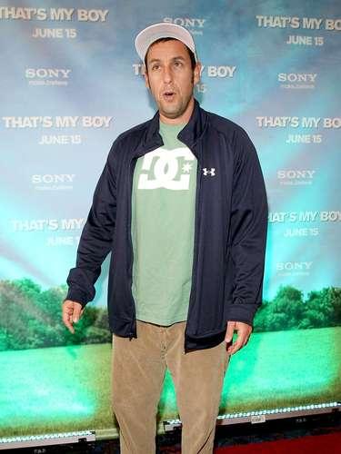 That's My Boy! Nuevamente una película de Adam Sandler vuelve a estar nominada a peor película en los Razzies. Y es que Sandler ha recibido críticas como comedia patética y él juzgado por ser incapaz de hacer reír con chistes inteligentes, ouch.