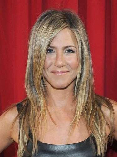 Jennifer Aniston no podía faltar en este conteo. La actriz tiene 43 años y sigue muy sexy al pasar de los años