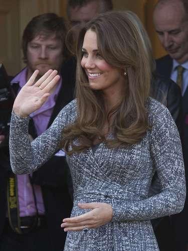 Duquesa Catalina: Feliz, radiante y embarazada