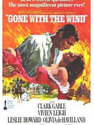 En 1939 la Mejor Película del año fue Gone with the Wind del director Victor Fleming