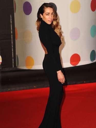 La cantante francesa Delilah fue otra de las estrellas invitadas a la premiación.