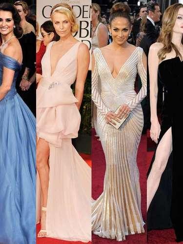 Penélope Cruz, Charlize Theron, Jennifer Lopez y Angelina Jolie. Este año no serán ellas quienes opten a un Oscar de la Academia pero las miradas recaerán sobre ellas para saber cuál es la mejor vestida. A continuación, nuestras apuestas.