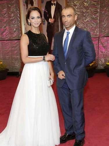Lupita Jones junto a su pareja.