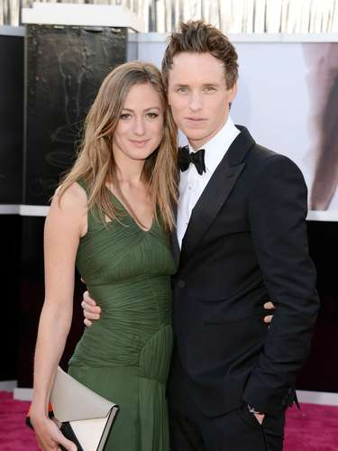 Les Miserables actor Eddie Redmayne and his date Hannah Bagshawe compliment each other nicely.