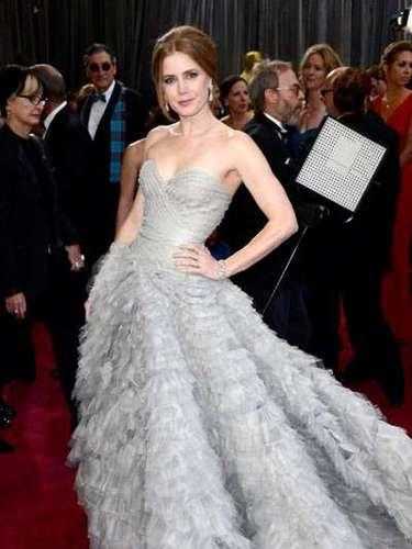 Amy Adams, nominada a la categoría de Mejor Actriz de reparto, por su actuación en \