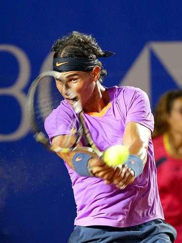 El español Rafael Nadal por fin debutó en el Abierto Mexicano de Tenis y lo hizo con una victoria sobre el argentino Diego Schwartzman en dos sets.
