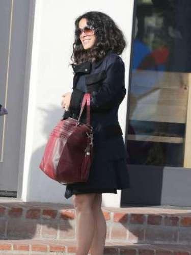 Salma guarda una gran amistad con la española Penélope Cruz, quien hace algunas semanas anunció su segundo embarazo.