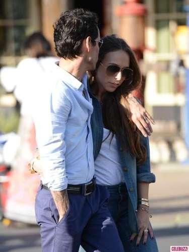 La pareja se encontró en enero del 2013 y el puertorriqueño no dudó en conquistar a la hija de su viejo amigo.