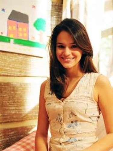 En 2010, la actrizvivió Teresinha en la novela 'Araguaia', deGlobo.