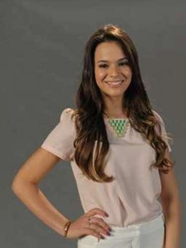 En el mismo año, Marquezine participa de evento para presentar la novela Salve Jorge, de Globo.