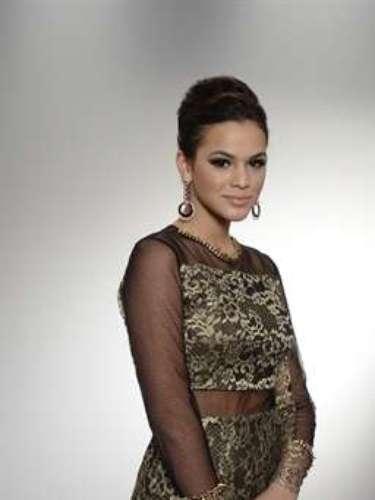 Bruna Marquezine en el lanzamiento de la novela Salve Jorge, de Globo.